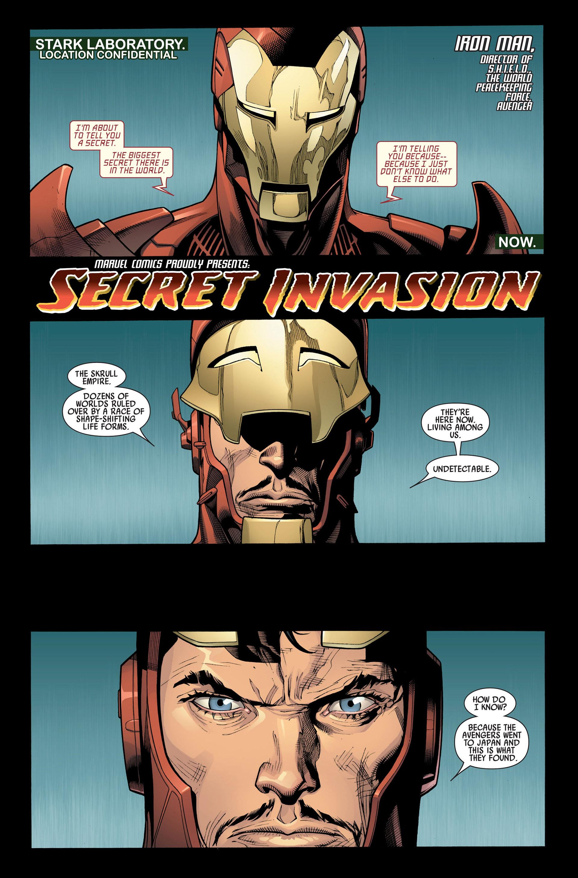 Read online Secret Invasion comic -  Issue #1 - 4
