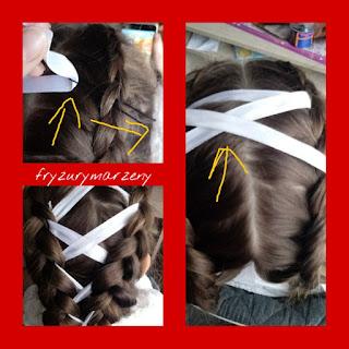 gorset-wstążka-warkocz-holenderski-splot-fryzura-swieto