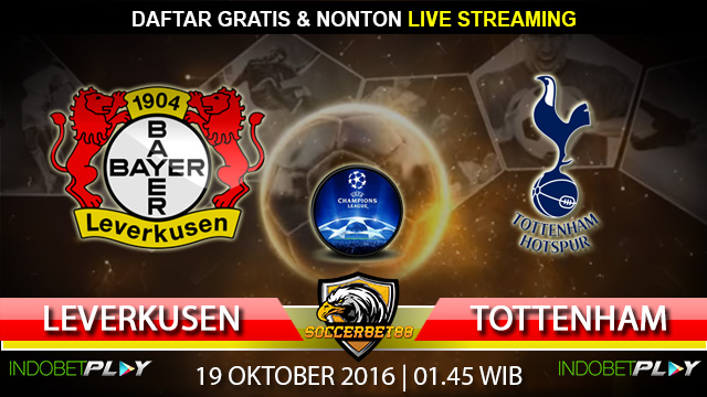 Prediksi Leverkusen vs Tottenham 19 Oktober 2016 (Liga Champions)