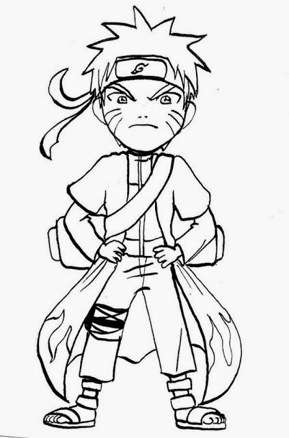Imagenie Para Colorir Naruto Para Colorir Desenhos Para