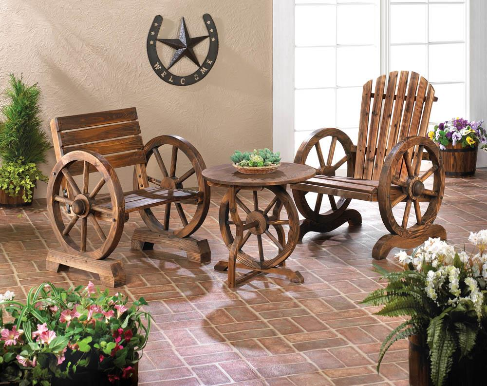Kelly S World Of Products Wagon Wheel Chair Sale - B And Q Garden Furniture Clearance Sale