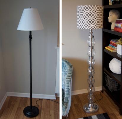 Floor Lamp Makeover Using Coke Bottles, Duct Tape, and ...