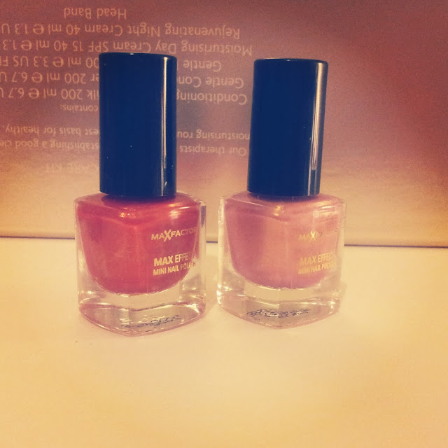 max factor nail polish make up