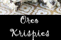 Yummy Oreo Krispies
