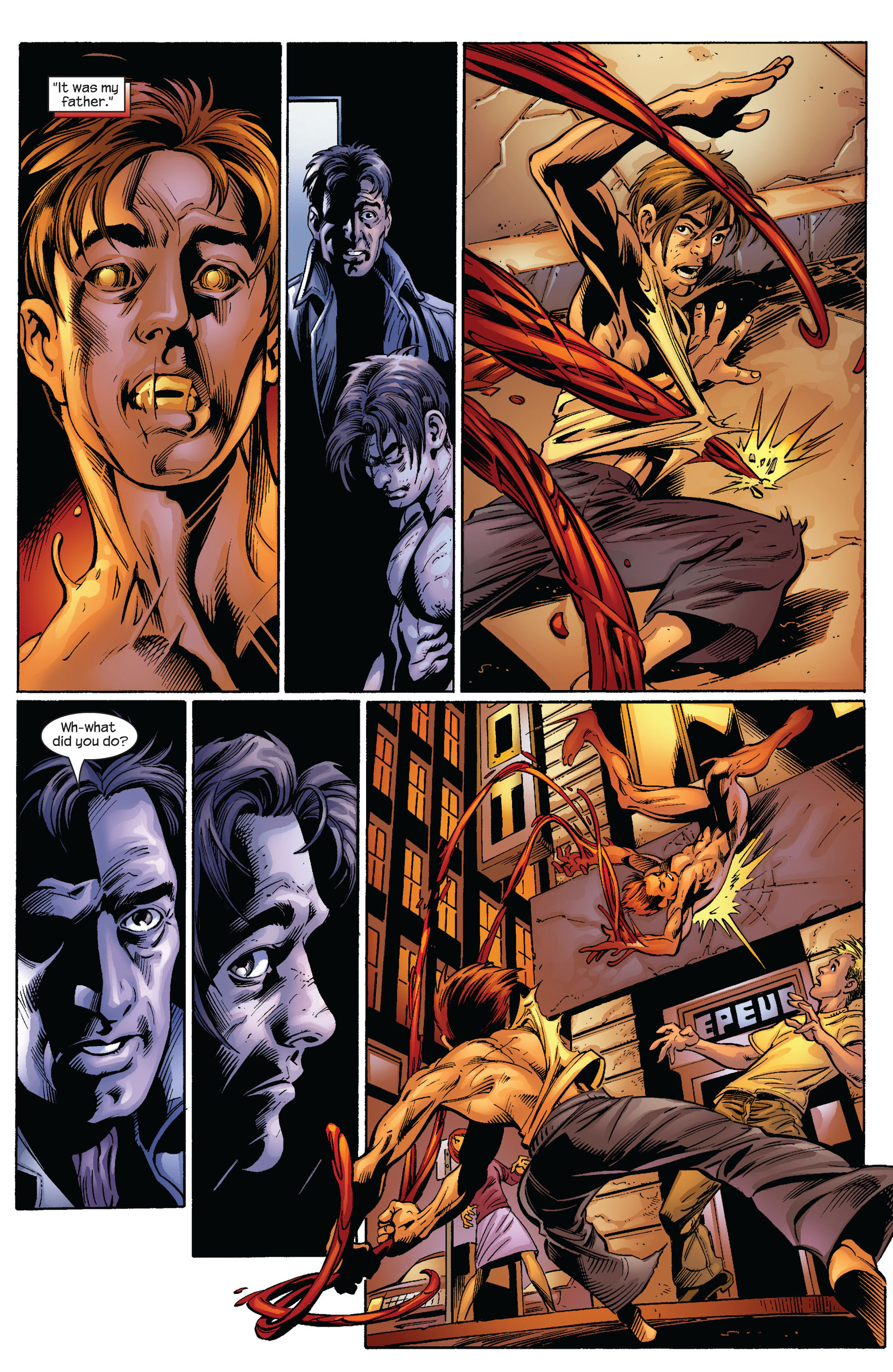 Read online Ultimate Spider-Man (2000) comic -  Issue #64 - 14