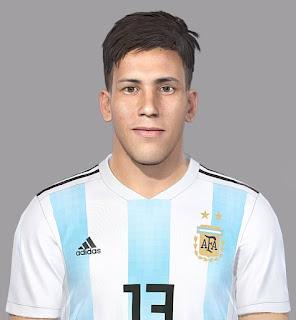 PES 2018 Faces Maximiliano Meza by Luis Facemaker