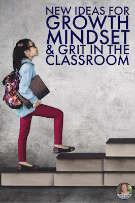 Get new growth mindset lesson & activity ideas for your Middle School students.  #forteachers
