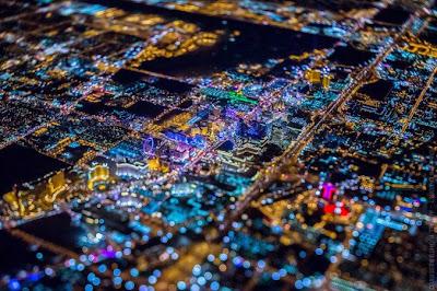 """Las Vegas """"La ciudad del pecado o sin city""""  fotos nocturnas"""