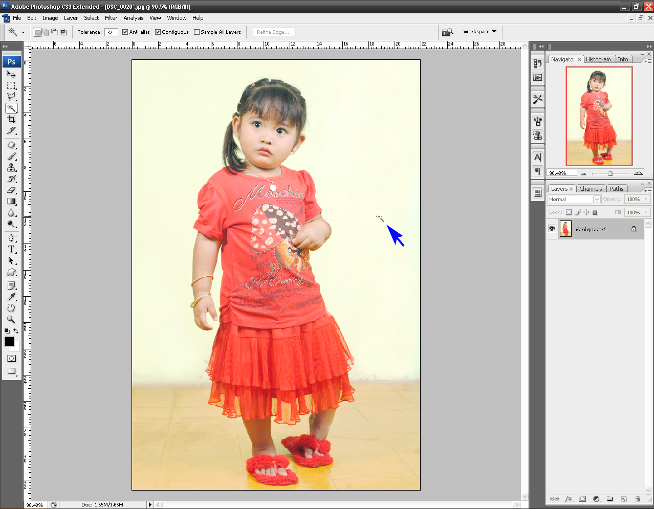 Cara Menghapus Background Foto Dengan Photoshop Bas Studio Net