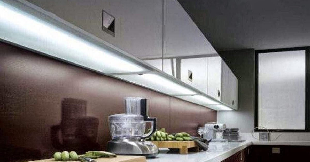 Where and how to install LED light strips under cabinet