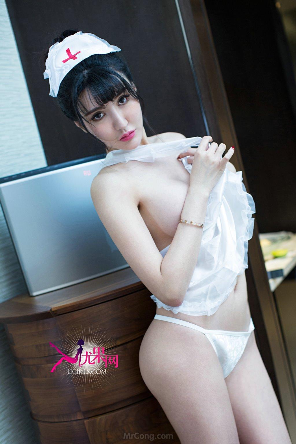 Image MrCong.com-UGIRLS-088-Dai-Bei-Qi-025 in post Người đẹp Dai Bei Qi (黛蓓琪) khoe thân hình nóng bỏng trong bộ ảnh UGIRLS 088
