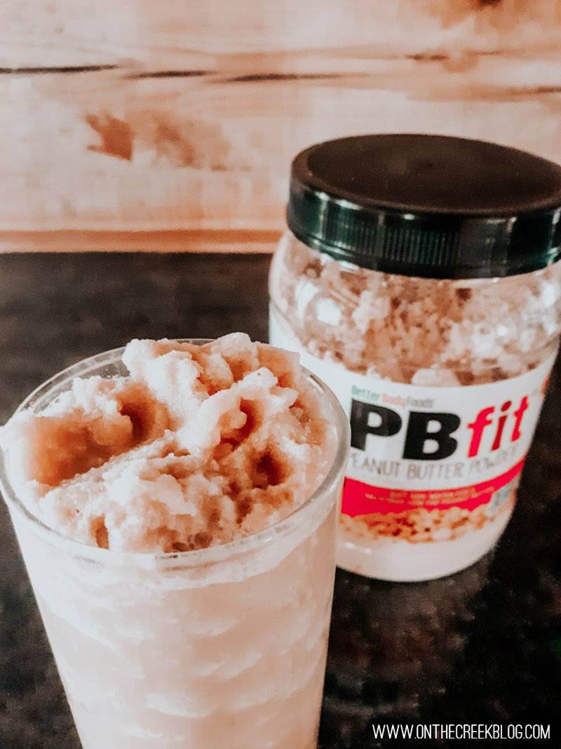 Protein Shake using coffee & PBfit!