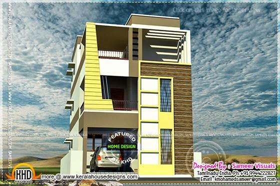 House design by Sameer visuals