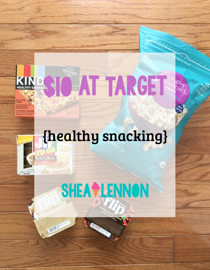 Shea Lennon: $10 at Target: Healthy Snacking