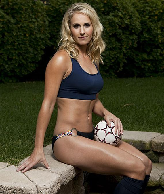 Best Sports Photos Of 2012: Heather Mitts Soccer Hot Photos 2012