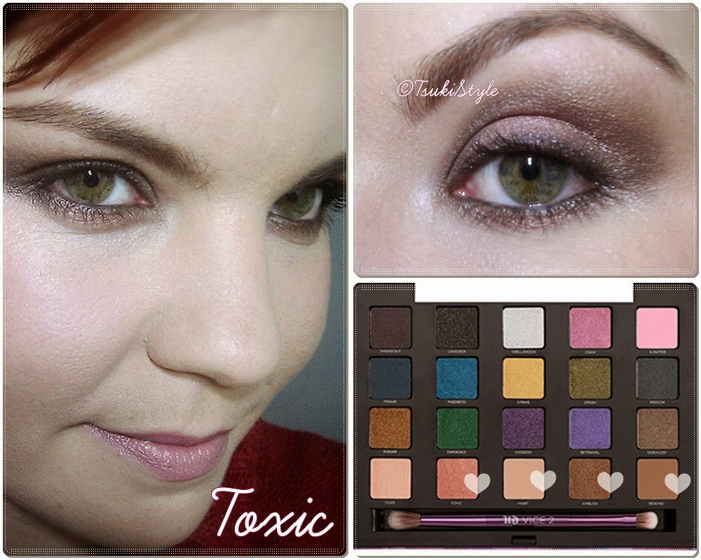 look toxic vice 2 makeup urban decay