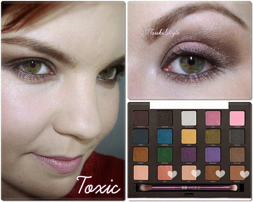 look toxic vice 2 makeup urban decay
