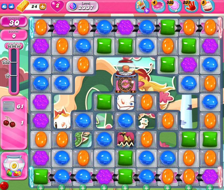 Candy Crush Saga level 2337