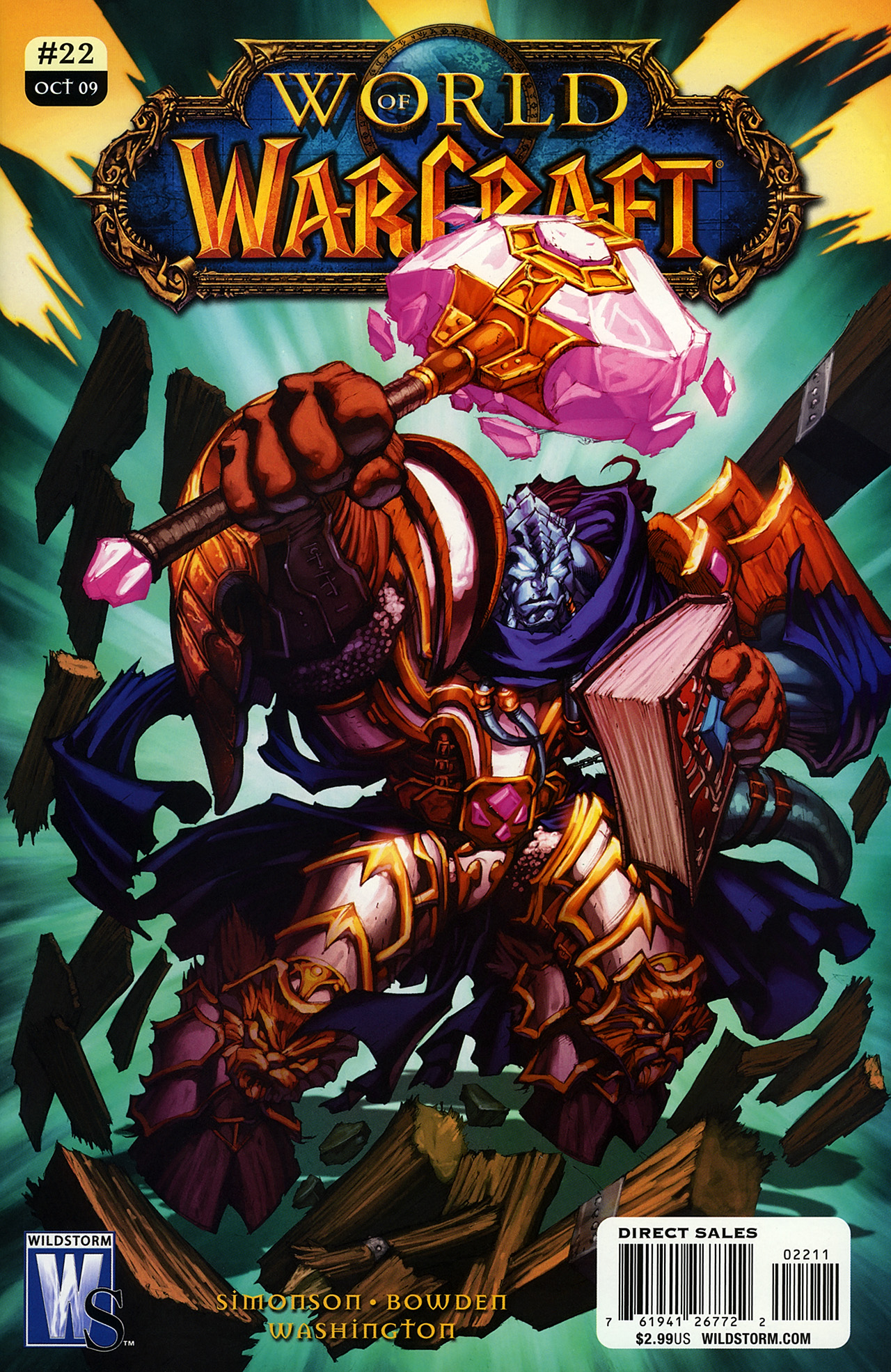 World of Warcraft issue 22 - Page 1