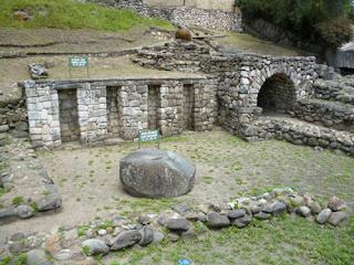 Ruinas de la ciudad Inca de Tomebamba