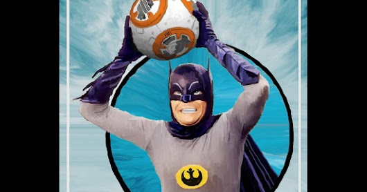 The Bat and BB-8