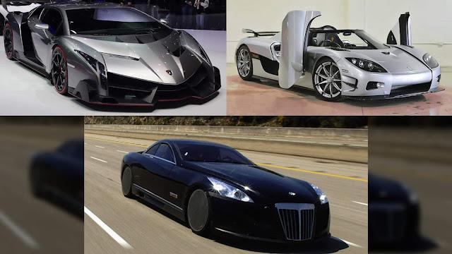 3 Mobil Termahal di Dunia