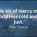 Best Mercy Quotes And Sayings