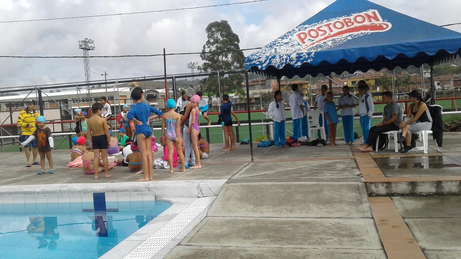 Piscina olimpica de rionegro for Piscina olimpica madrid