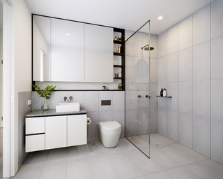Granite Bathroom Countertops White Color