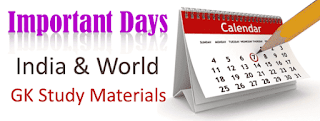 IMPARTENT DAYS IN JUNE 2017