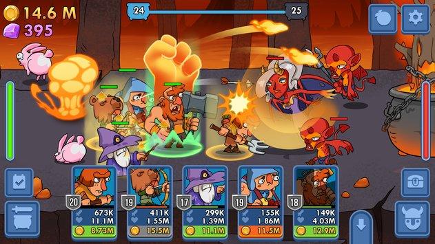 Semi Heroes: Idle Battle RPG Apk - Jagad id