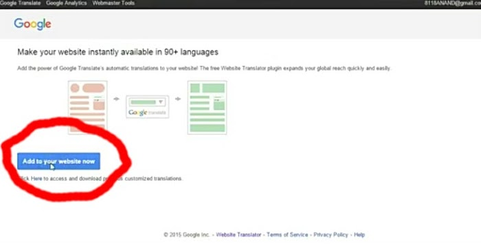 How To Add Google Website Translate On Your Blogger Blog