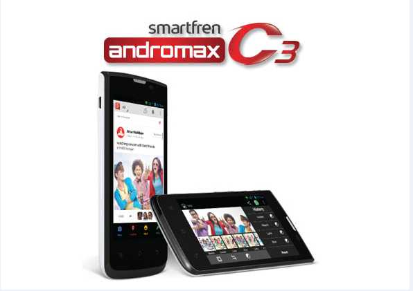 Spesifikasi Smartfren Andromax C3 dengan Kelebihannya
