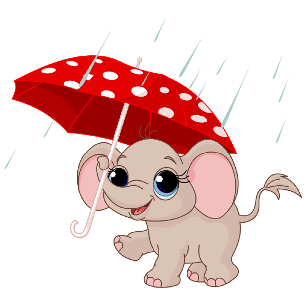 Umbrella Elephant