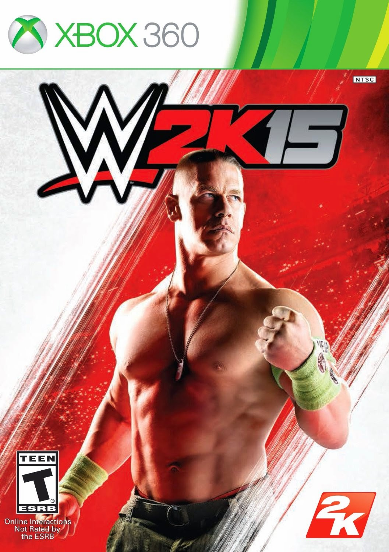 WWE 2K15 Multilenguaje ESPAÑOL XBOX 360 Cover Caratula