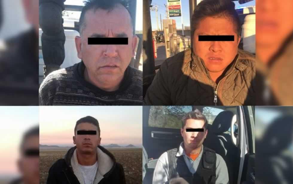 Tras enfrentamiento caen 4 sicarios del Cártel de Sinaloa en Chihuahua; 2 son policías