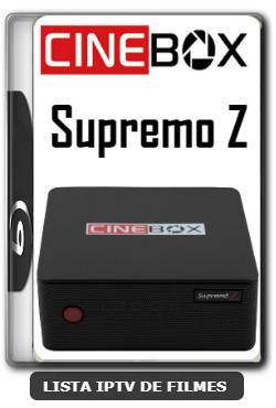 Cinebox Supremo Z Melhorias no IKS Nova Atualização - 11-01-2020