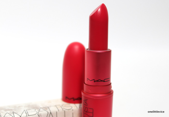 one little vice beauty blog: win a mac giambattista valli lipstick
