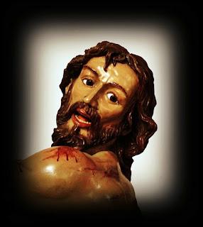 Santo Cristo Flagelado del Desamparo y la Caridad. Real cofradía de Minerva y Vera Cruz. León. Foto. G. Márquez.