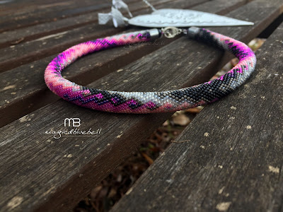 Bead crochet harness