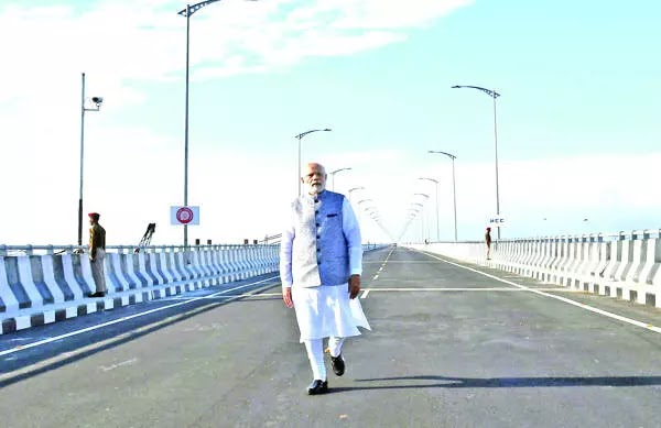 15 Common Myths About PM Inaugurates India's Longest Rail-cum-road Bridge.