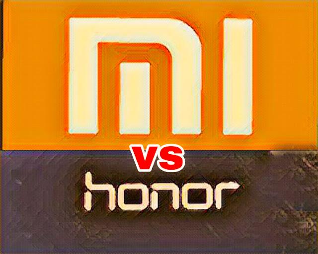 redmi vs honor
