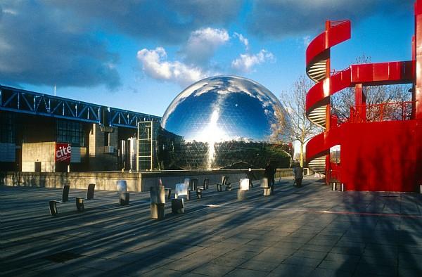 Parque de la Villette para crianças em Paris