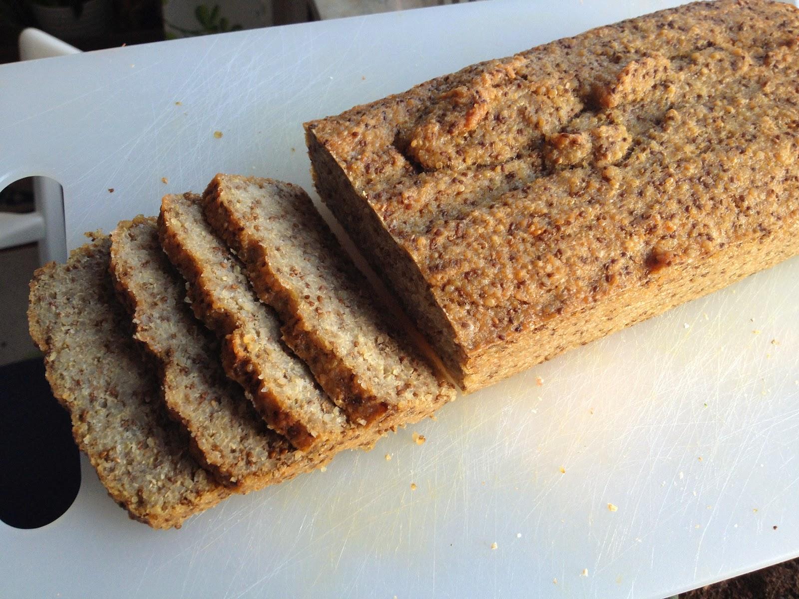 baka sockerfritt och glutenfritt bröd