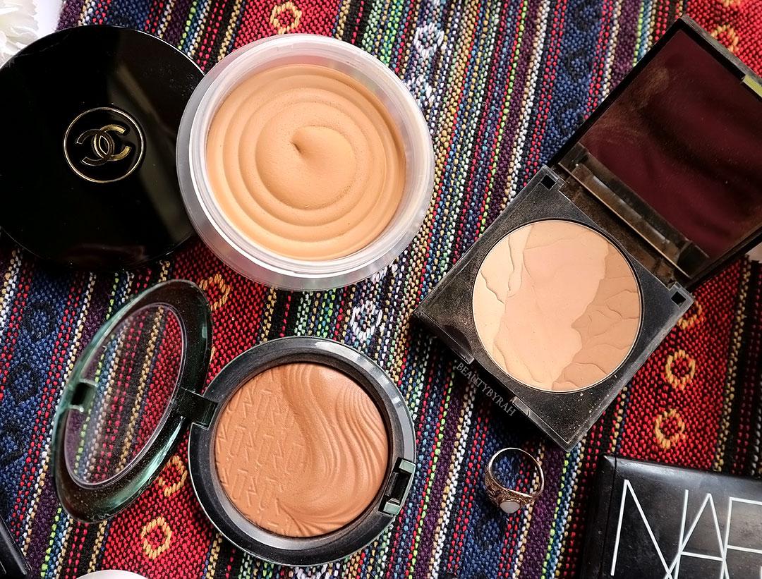 Soleil Tan De Chanel and Alcina Sun Kiss Powder review