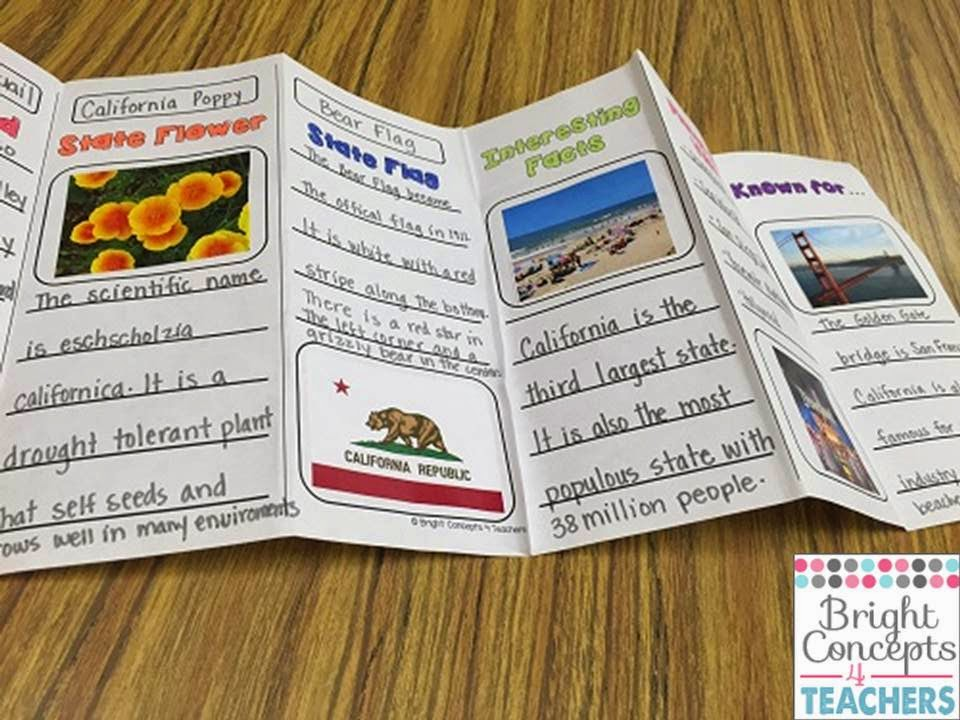 What Does A Brochure Look Like Examples 5Th Grade Brochures For     March 2015Bright Concepts 4 Teachers Lesson Plans And Teaching