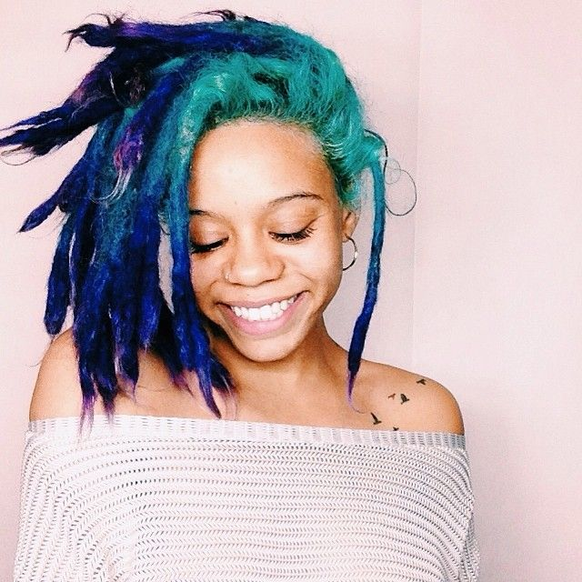 Color Locs Dread Hair