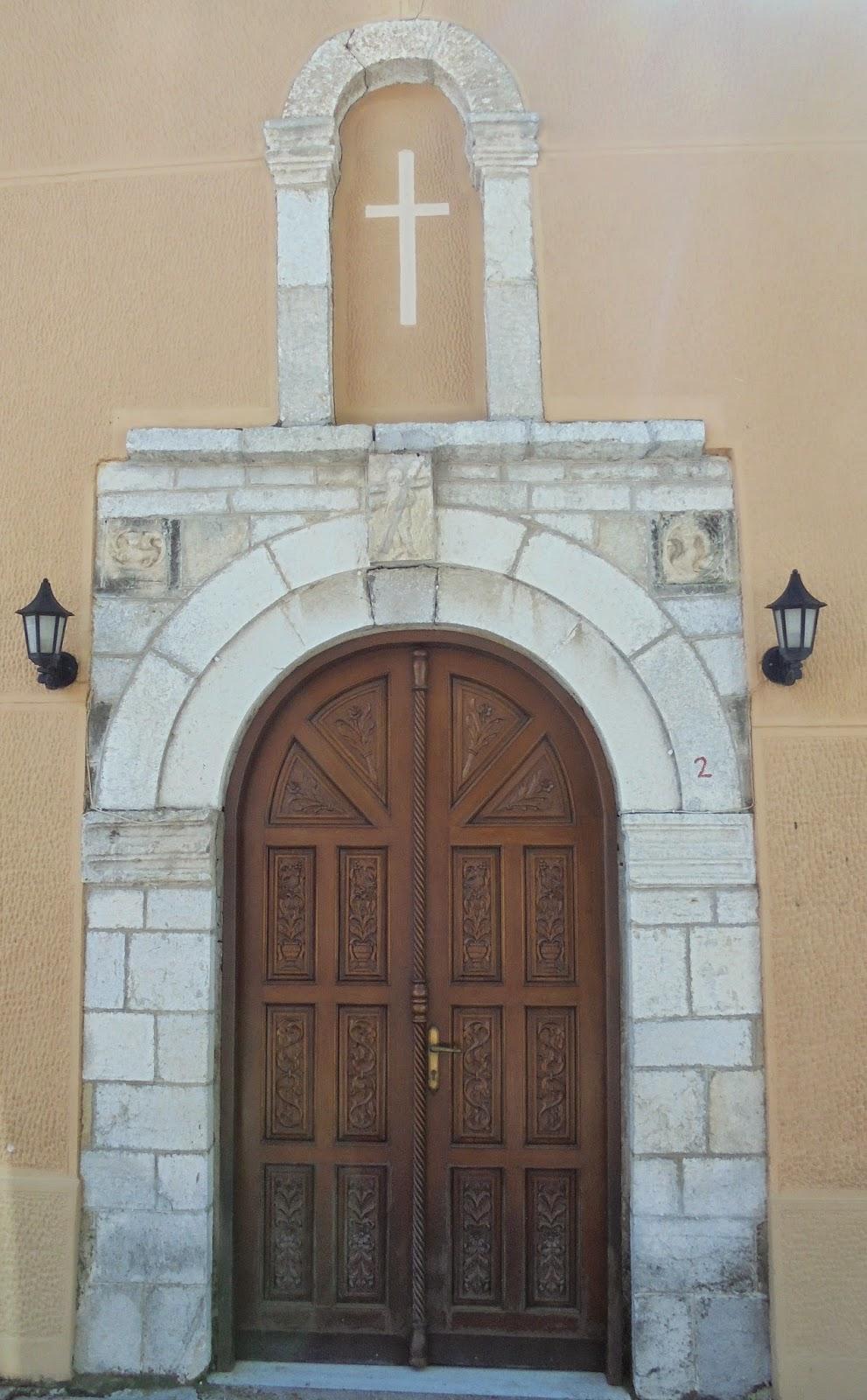 ο ναός του αγίου Σπυρίδωνα στη Βόνιτσα
