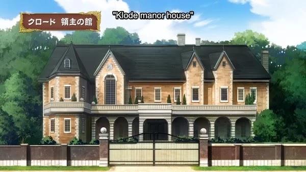 Tempat tinggal Sicily di Anime Kenja no Mago Episode 9