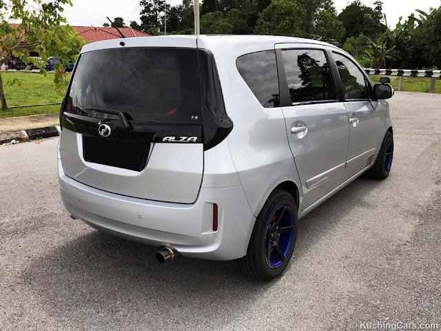 Perodua Alza SX Manual